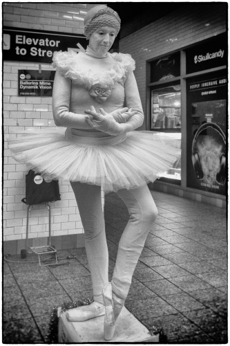 Mime, Times Square