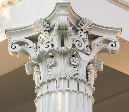 Corinthian Column on Putnam County Courthouse