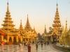 Schwedagon Pagoda, Yangon, Myannmar