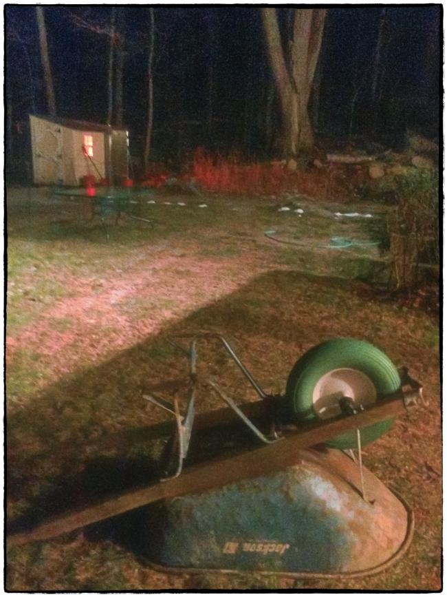 wheelbarrowandchickencoop-1