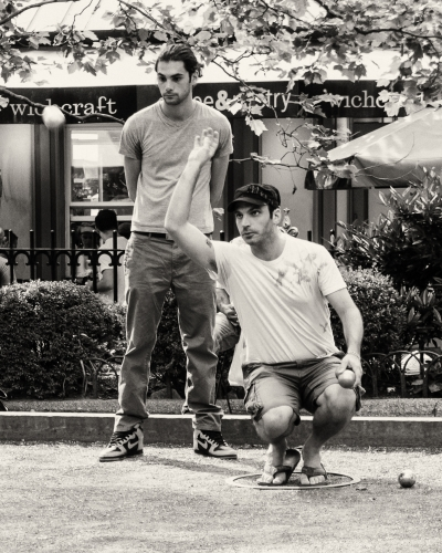 Boules in Bryant Park