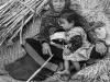 Nepali woman and child