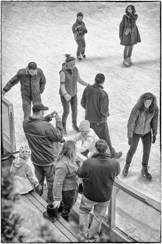 Skaters, Rockefeller Center