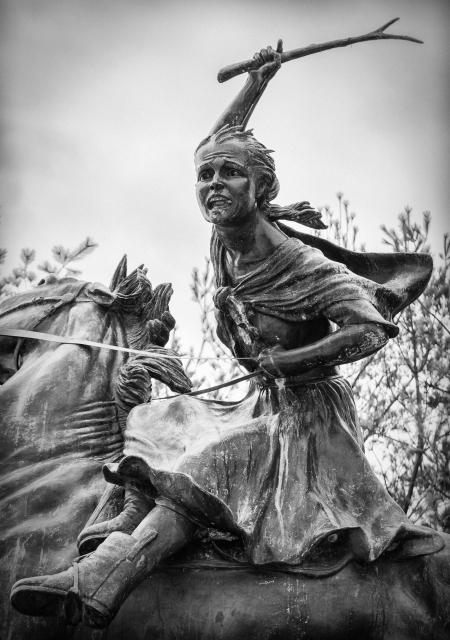 Sybil Ludington Statue Carmel, NY