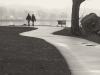 Couple walking - Croton Landing